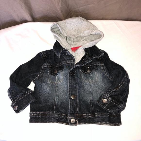 Arizona Jean Company Jackets Coats Faded Layer Look Jean Jacket